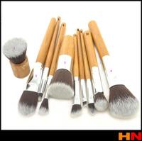 10Pcs Professional Makeup Brushes Set Makeup Brushes Kit Free Draw String Makeup Bag