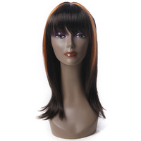 Realistic plastic mannequin head without hair