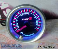 Free shipping -( H Q ) 7 COLOR Air/Fuel Ratio GAUGE TK-7C7709-2