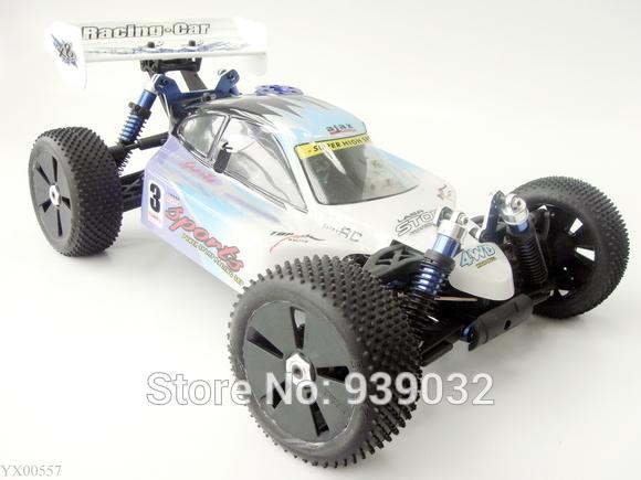 1:8 Scale RC truck Nitro Gas 21CC engine 4WD Buggy RTR Car radio remote control truck toys(China (Mainland))