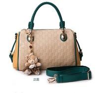 Bags 2014 large capacity big bag fashion women's handbag portable women's vintage one shoulder cross-body street