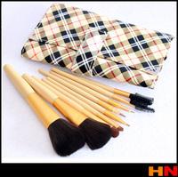 New High quality Make-Up For You Professional 9pcs Makeup Brush Set Kit Makeup Brushes & tools Make up Brushes Yellow