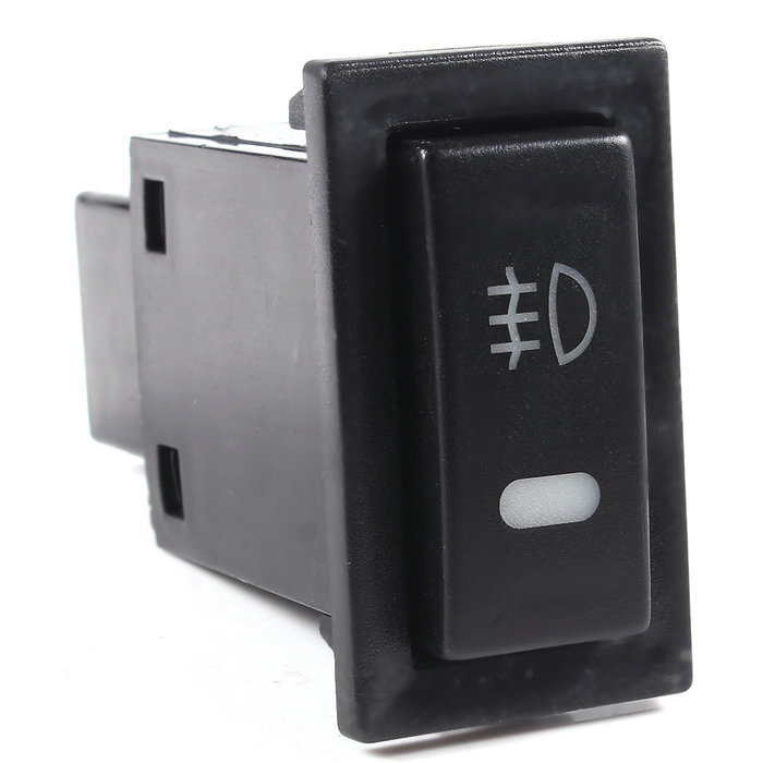 Automobile Car Self Lock Fog Light Rocker Switch Button For Toyota Free Shipping(China (Mainland))