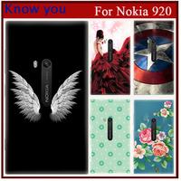 New 2015 Exclusive Design Cartoon Comic Print Hard Plastic case For nokia lumia 920 case fit nokia 920 phone cover