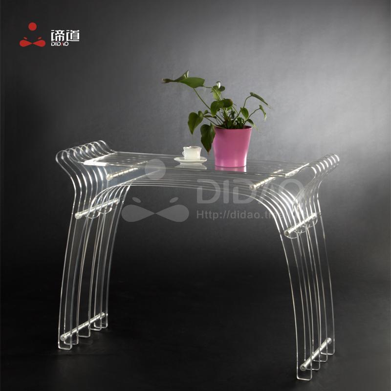 Acrylic desk study tables modern minimalist fashion creative desk IKEA furniture Di Road(China (Mainland))