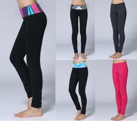Wholesale Top Quality Lulu Yoga Full Pants Women Colorful Fashion Comfy Pencil Pants Lady's Yoga Leggings Size:XXS-XL