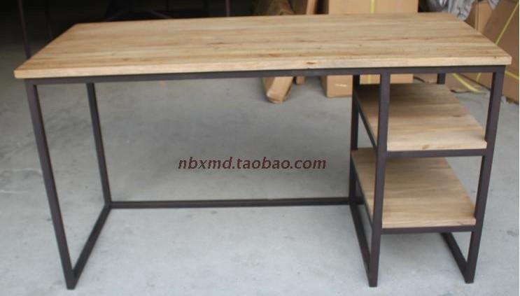 Ming et qing antique bois de fer forg noeud et un bureau for Meuble bureau fer