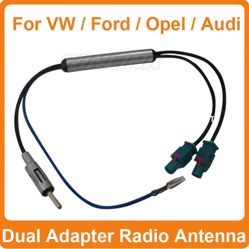 Livraison Gratuite Deux fa Amp Ccedil Ons Antenne Radio de Voiture Adaptateur