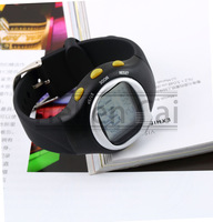 5Pcs New arrival free shipping Calorie Burned Heart Rate Pulse Not waterproof Sport Watch monitor Wrist watch Hot New