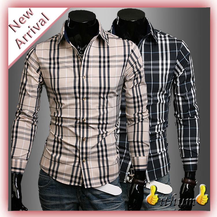 Мужская повседневная рубашка Brand New 2015 masculinas camisetas Slim Fit 584HZ3987 женская футболка brand camisetas ropa mujer camisetas y ballinciaga 2015 ld226