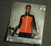 German Brand CRANE Winter Women's Mountain Bike Cycling Jacket Tech-Tex Soft shell Waterproof Rainproof Bicycle Clothing