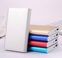 New Design Large Capacity 20800 mAh Thin Power Bank Portable External Battery Pack Power Supply Free shipping