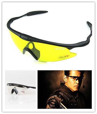 Motorcycle Cycling Bicycle Kite Skating Surfing Driving Shooting Hunting Airsoft NV100 UV400 Sun Glasses CS Game Goggles Eyewear(China (Mainland))