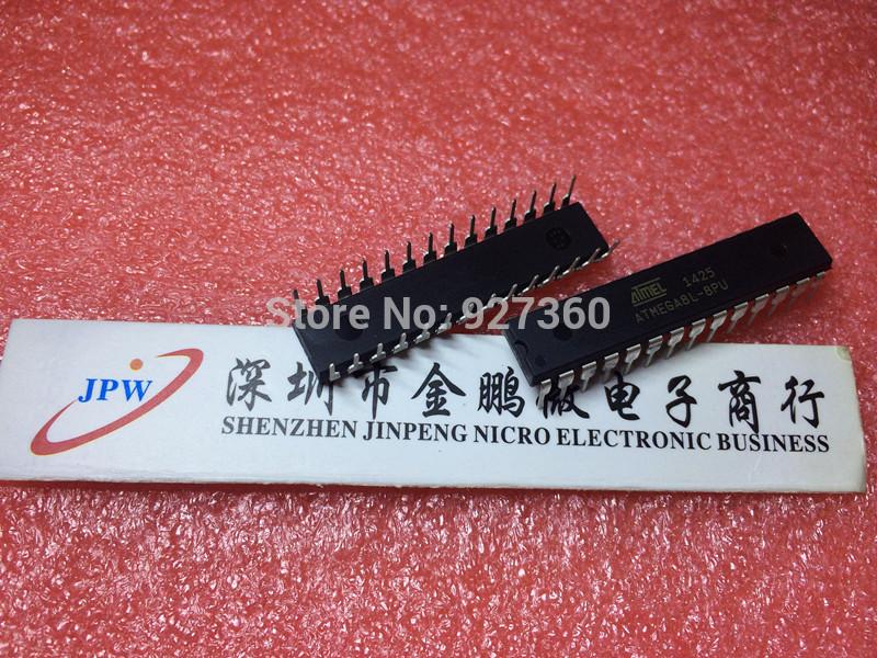 Free Shipping 10PCS New ATMEGA8L ATMEGA8L-8PU DIP-28 100% IC ATMEL(China (Mainland))