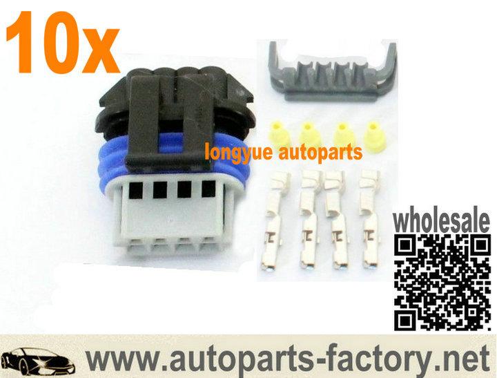 longyue 10kit Coil Connector D585 D581 Truck RX8 LS2 LS7 Case For Corvette Chevy ignition pack Fuel Pump(China (Mainland))