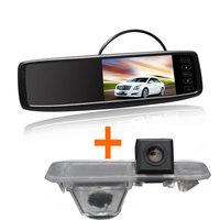 "Car Rear View Camera Kit for KIA Rio Sedan for Kia K2 Sedan 2011-2014+ 4.3"" Special Car Mirror Monitor"