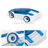 Salt water powered car DIY Novelty Educational Parent-child Toys Saline vehicle Assembling saline Child experiment powered car