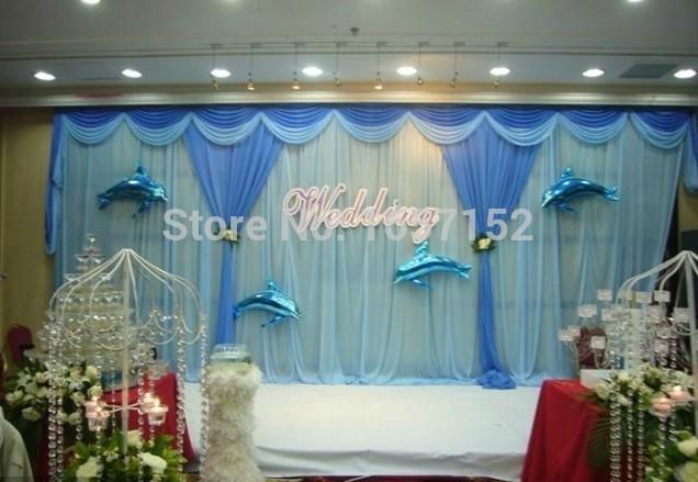 10ft 20ft Sky Blue Party Backdrop Wholesale Party Backdrop