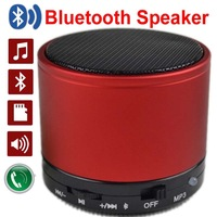 2015 New arrival!!Portable Mini Bluetooth Speakers Wireless Hands Free Speaker With FM Radio Support FT Card Free shipping!