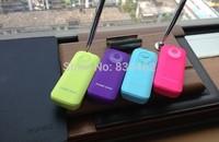 2400mah 5v/1A External Battery Pack Yellow/dark blue/white/black/pink/light blue LED Light YSXGT4