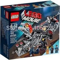 Original Brand Lego Blocks Bricks Learning Educational Models & Building Classic Toys 70801 MOVIE Series Melting Room 122PCS