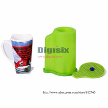 Cone Mug Heat Press Mug Clamps For ST-1520 3D Sublimation Machine,The Thermostability Rubber Mug Lamps Slicone Mould