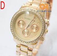 Luxury Wholesale women men wristwatches ladies fashion Analog quartz watch Women watches men SQW150