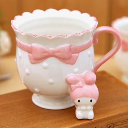 Hello Kitty Cute Cup,Cartoon Ceramic Milk Cup,Creative princess Mug with handle,nice gift to girl friend,free shipping(China (Mainland))
