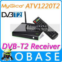 Geniatech MyGica ATV1220T2 DVB T2 Android TV BOX XBMC DVB-T2 Tuner Receiver 1G/4G Amlogic 8726-MX Dual Core IPTV Media Player