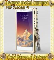Trigger Metal Premium bumper for Xiaomi M3 M4 aluminum bumper case for Xiaomi M3 M4