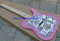 Brand New Pink  Electric Guitar China Guitar