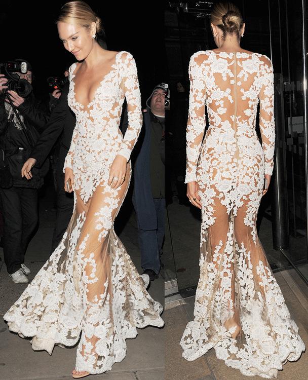 Фото прозрачные кружевные платья