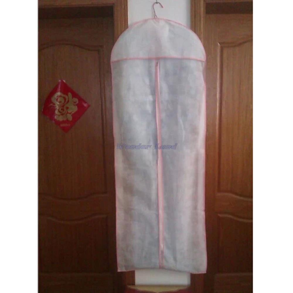 "Wonder Land-59"" Bridal Wedding Dress Gown Garment Anti Dust Cover Bag Protector Storage Carry Bag(China (Mainland))"