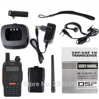 Black NEW BaoFeng BF-E500S Walkie Talkie VHF/UHF 136-174/400-520MHz Dual-Band DTMF CTCSS DCS FM ham two way radio