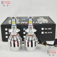 60W Cree LED car headlight 6000LM h7 led headlights car H7 LED headlight Auto headlamp bulbs 6000LM LED Fog Day Light Lamp Bulb