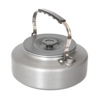 Free shipping Dark Gray New style portable outdoor camping tea pot Hard aluminum coffee teapot 1.1L