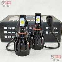 60W Cree H10 LED car headlight 6000LMled headlights car LED headlight Auto headlamp bulbs 6000LM LED Fog Day Light Lamp Bulb