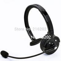 2015 NEW Over the Head Boom Mic Microphone Mono Bluetooth Headset Wireless Handsfree Headphone Nosie Canceling BH M10B (Black)+F