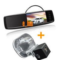 4.3 inch Car Reversing Mirror Monitor + Special Car Camera for Kia Forte for Hyundai Verna Solaris Sedan