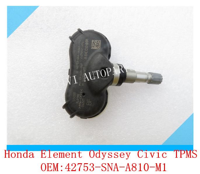 OEM:42753-SNA-A810-M1 Tire Pressure Sensor TPMS For Honda /Element /Odyssey /Civic 315 MHz(China (Mainland))