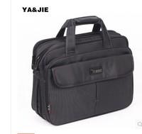 men's portfolio of British Fashion Shoulder Bag man bag business leisure tide computer bag