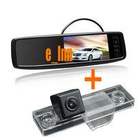 4.3 inch Car Reversing Mirror Monitor + Car Camera for Chevrolet Chevy Cruze Epica Lova Aveo Captiva Lacetti
