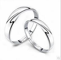 Brand Design 925 Sterling sliver Elegant Spoon ring danish arabic jewelry ring For men women Valentine's Day lover Wedding ring