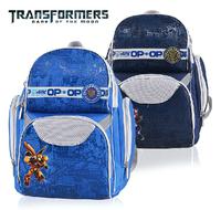 Transformers orthopedic primary children school bag shoulder backpack for boys  kids backpack  free shipping