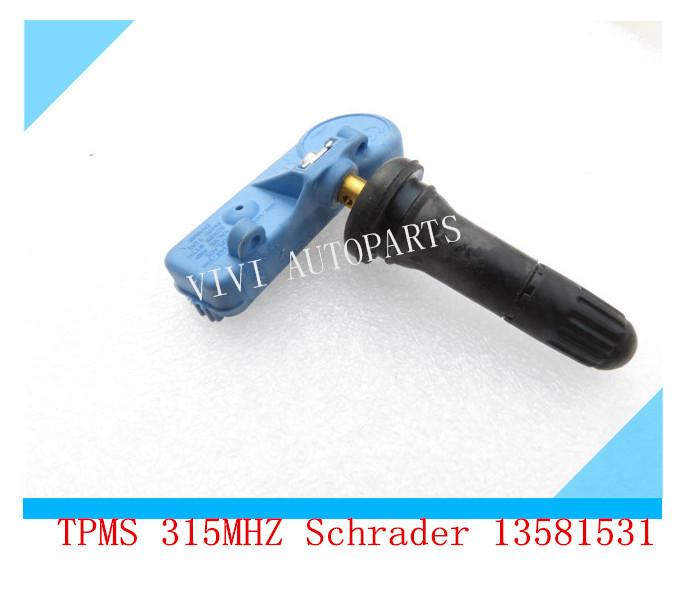 OEM:13581561For GM /Opel /Adam /Meriva New Brand Tire Pressure Sensor Monitor TPMS 433MHZ Schrader(China (Mainland))