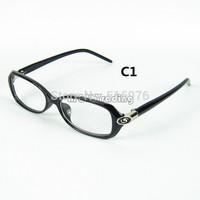Fashion Glasses Frame Oculos De Sol Masculino Engrave Metal Designer Optical Frames Computer Anti-radiation Plastic Eyeglasses