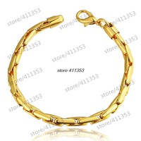 B086 Good Quality Nickle Free Antiallergic 2014 New Fashion Jewelry 18K Gold Plated Bracelets
