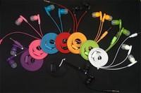 8 Colors Top quality DJ headphones 3.5mm bass earphones headset In Ear Mp3 andriol phone,dj earphones headset earphones bass