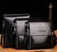 Genuine Leather Bag Men Messenger Bags Man Handbag Fashion Double Pocket Shoulder Bag Free Shipping