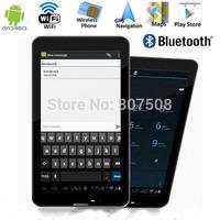 "Ultra slim 7"" 3G Tablet PC Phablet GSM/WCDMA MTK6572 Dual Core 4GB Android 4.2 Dual SIM Camera Flash Light GPS Phone Call WIFI"